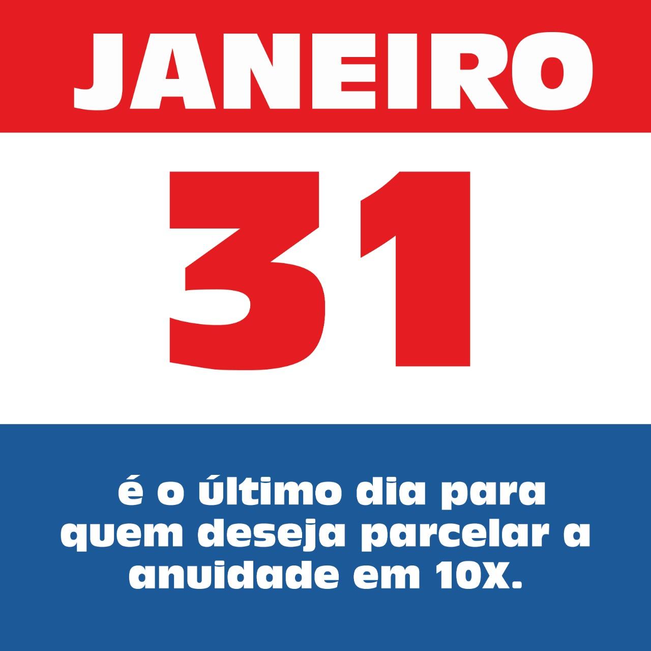 31 JANEIRO